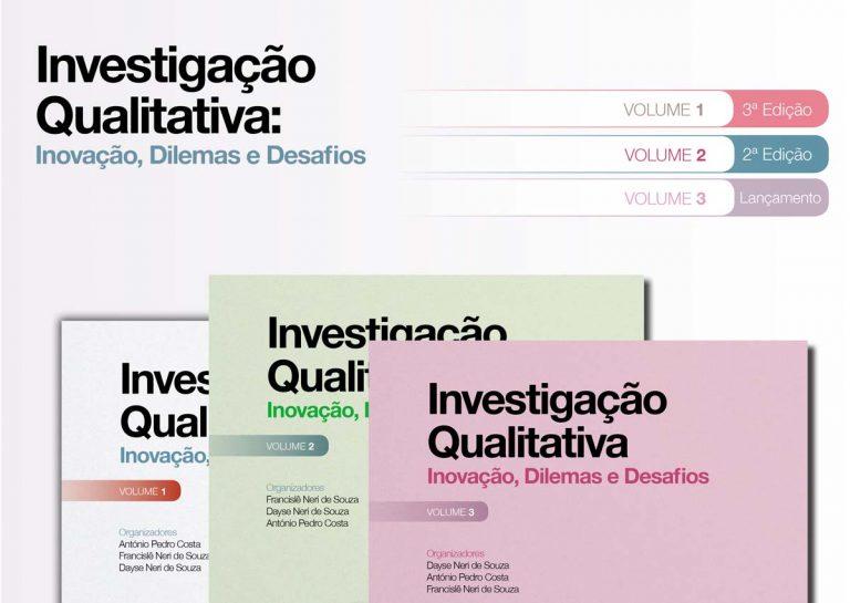 Pacote livros Investigação Qualitativa - Vol. 1, 2 e 3 Ludomedia
